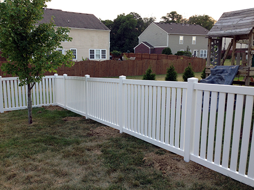 Pvc Fencing In Indianapolis In Privacy Fencing Installation